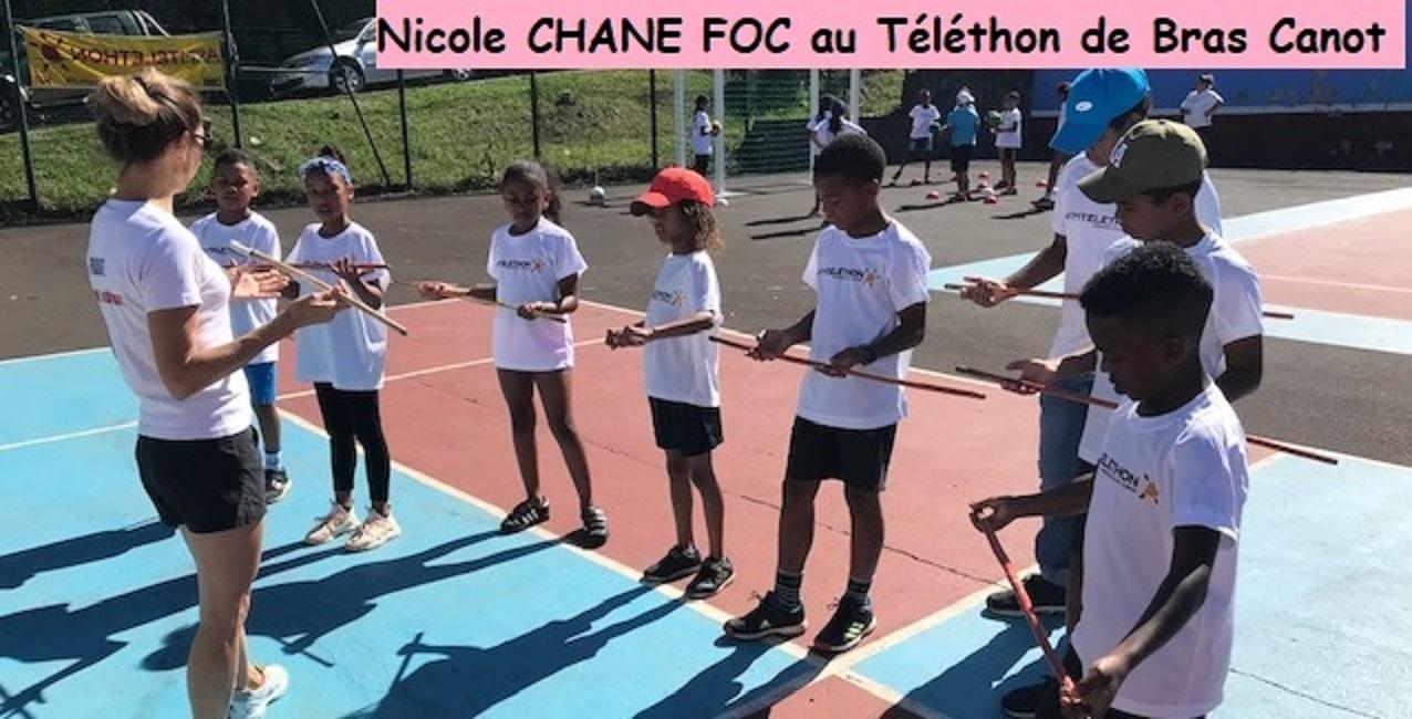 Téléthon à Bras canot