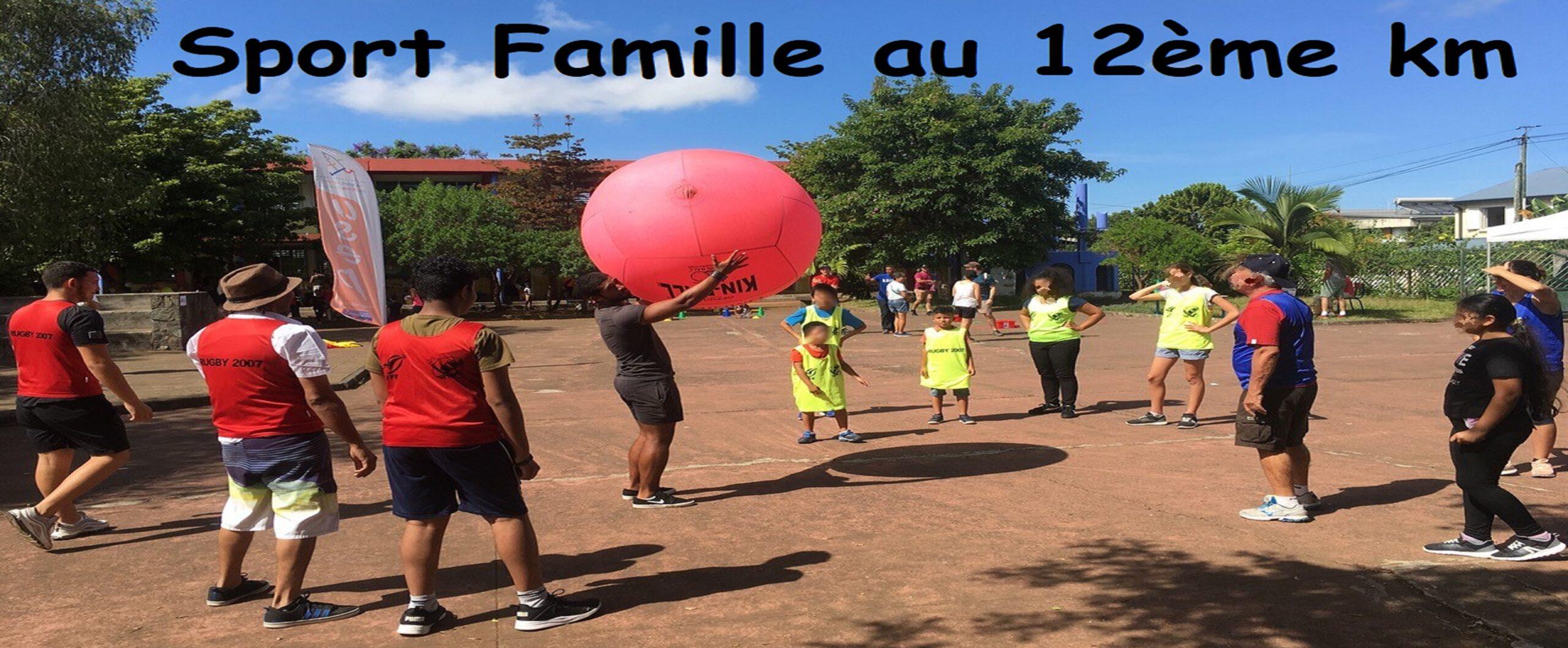 Sport Famille au 12ème km